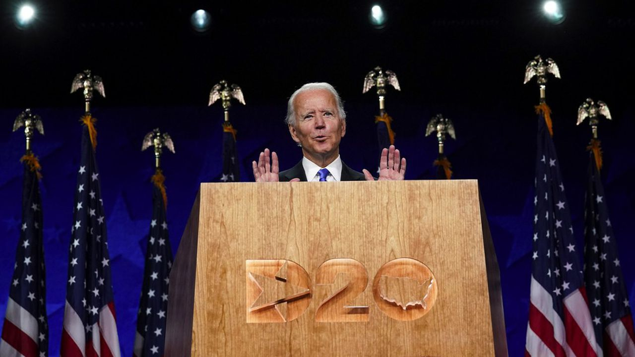 Joe Biden, ancien vice-président d'Obama désormais candidat à la présidentielle américaine.