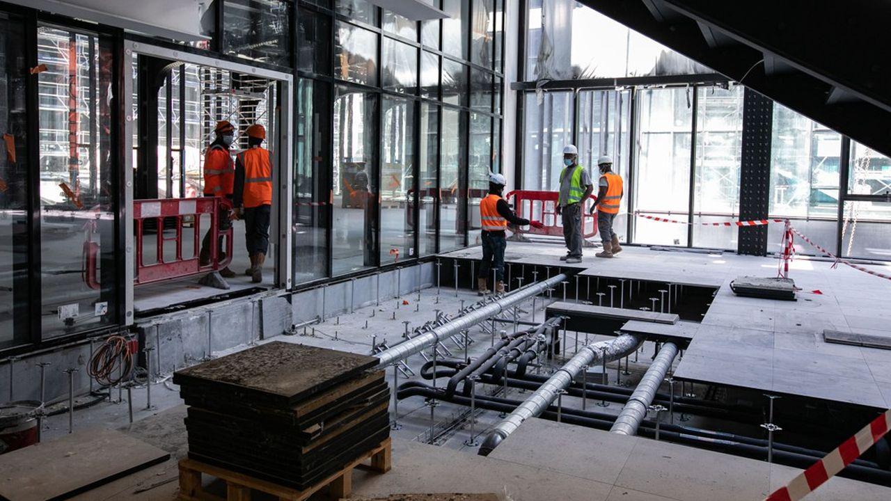 Le chantier de l'emblématique Poste du Louvre est dirigé par Bouygues restauration.