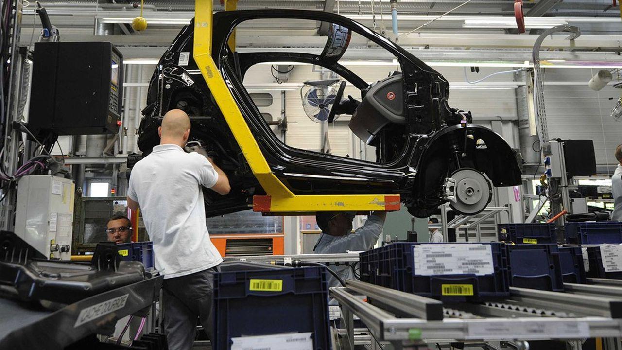 Daimler a accepté de reculer à 2024 la fin de la production de la Smart à Hambach, en Moselle.