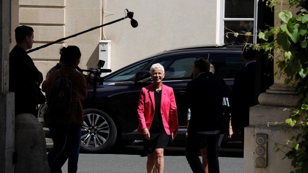 L'ancienne présidente du Haut-Rhin, Brigitte Klinkert, continue de suivre de près la naissance de la future collectivité depuis sa nomination au gouvernement Castex.
