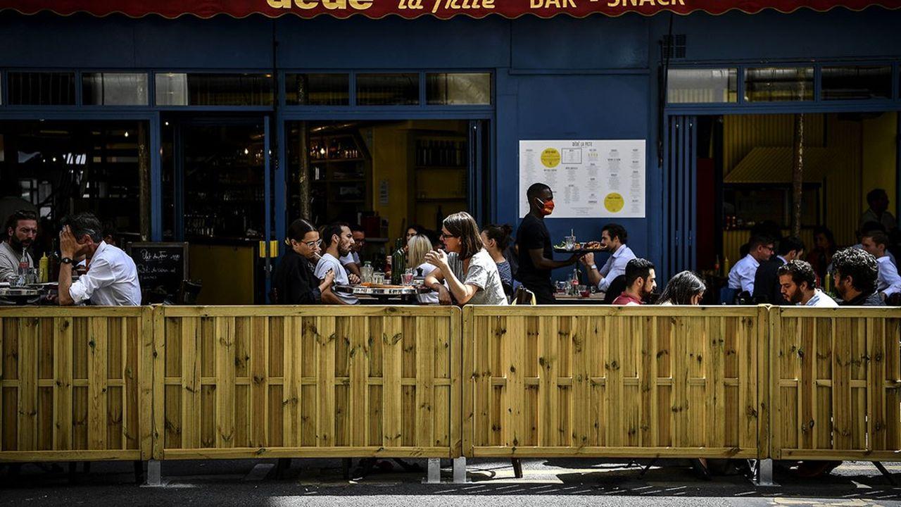 Les restaurateurs doivent respecter une charte en 10 points pour pouvoir ouvrir une terrasse.
