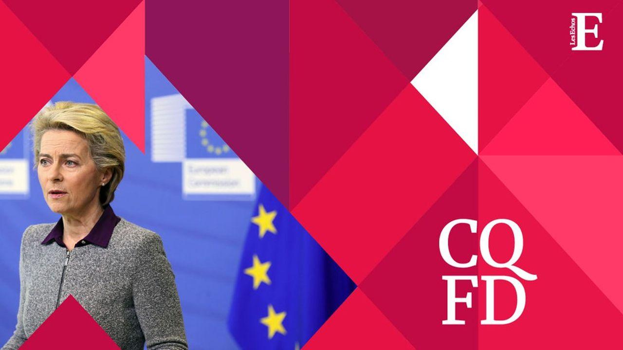 Ursula von der Leyen, ancienne ministre allemande de la Défense, est la première femme présidente de la Commission européenne.