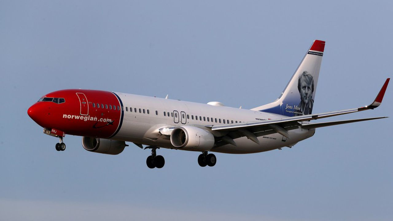 Norwegian n'a que très partiellement repris ses activités sur les lignes européennes avec une vingtaine de Boeing 737.