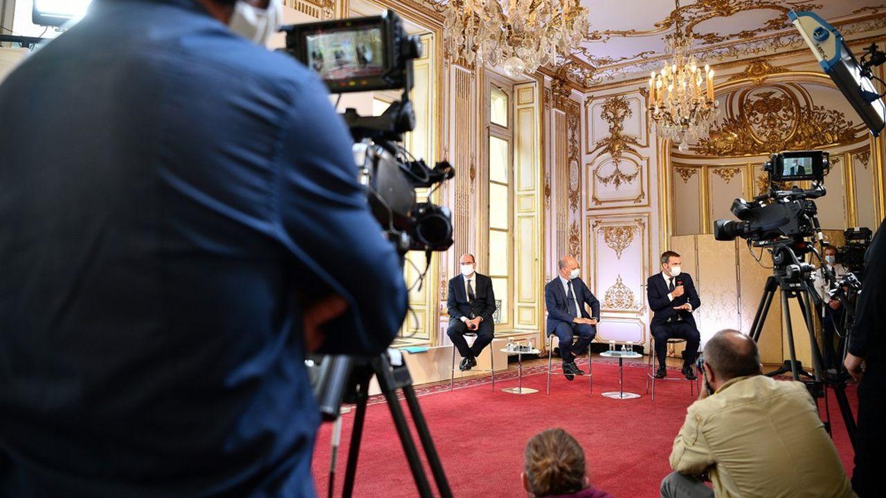Jean Castex, Jean-Michel Blanquer et Olivier Véran ont présenté ce jeudi le plan de bataille du gouvernement contre le coronavirus pour la rentrée.