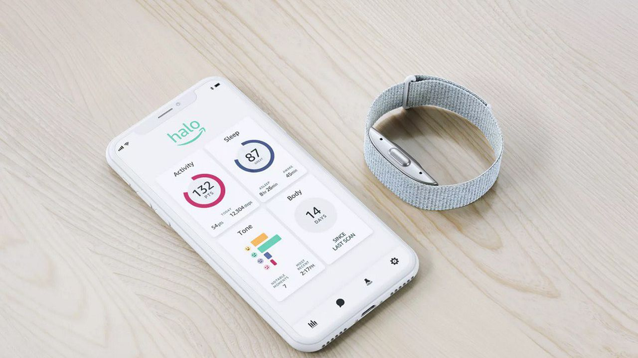 Amazon va commercialiser un bracelet connecté et une application dédiée au bien-être et à la santé.
