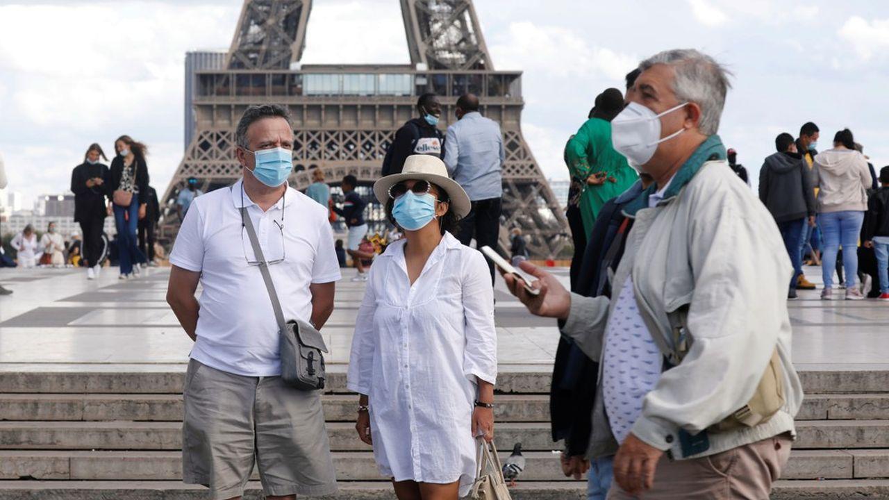 Comme à Marseille et Strasbourg, le port du masque est désormais obligatoire dans toute la ville de Paris.
