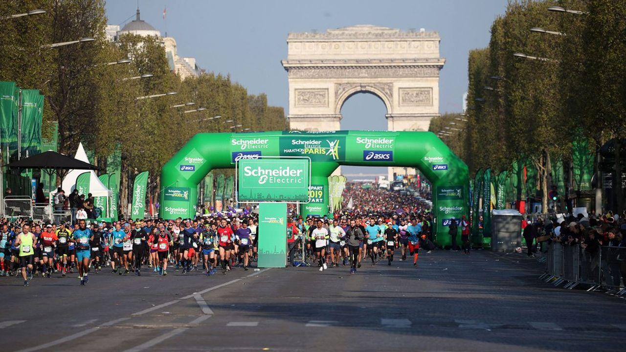 Amaury est parvenu à maintenir le Tour de France mais pas le Marathon de Paris, une autre de ses compétitions phares.