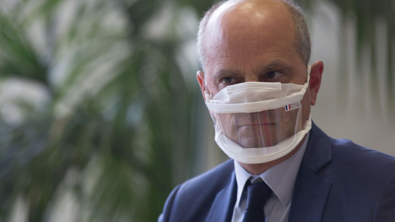 Le ministre de l'Education Jean-Michel Blanquer le lancement d'un «Grenelle des professeurs».