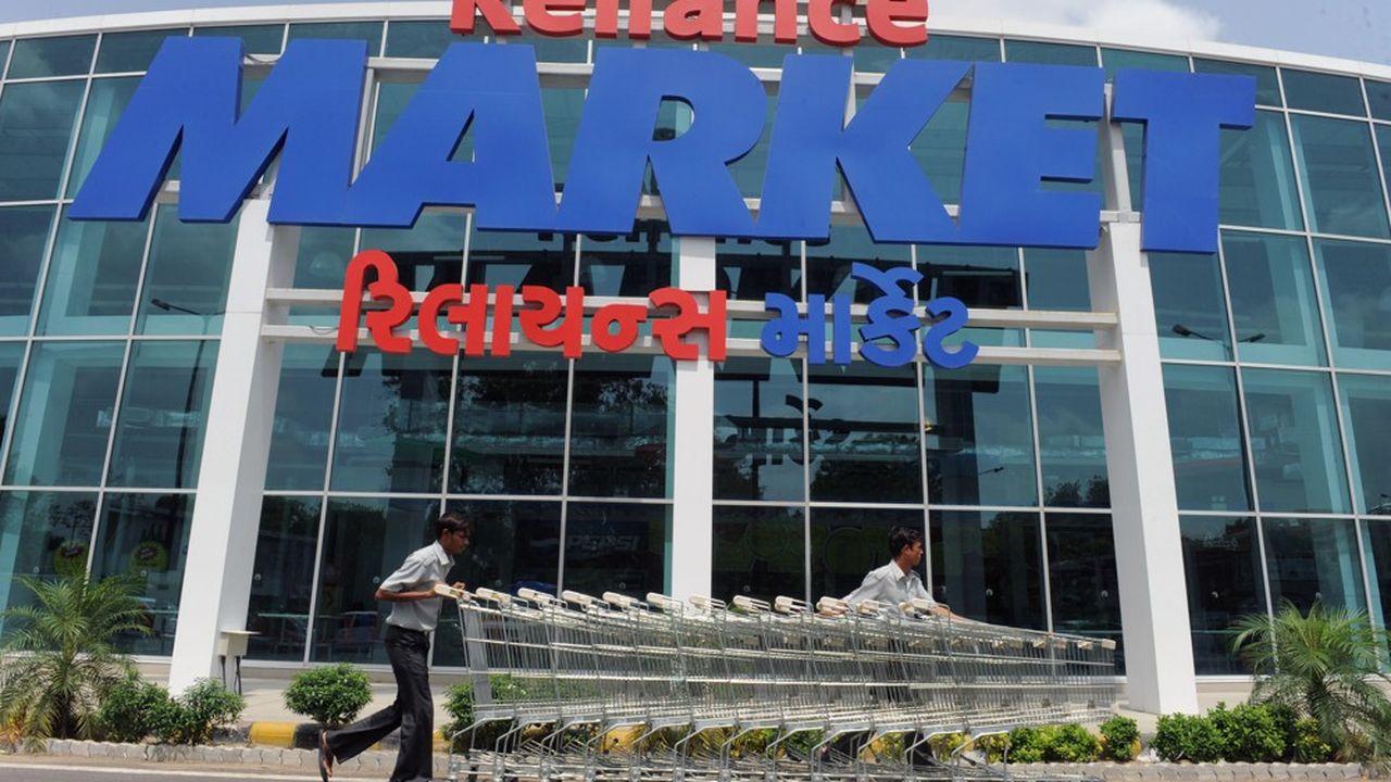 Avec 1.800 nouveaux commerces à son portefeuille, Reliance contrôle désormais environ un tiers des magasins de détail en Inde.