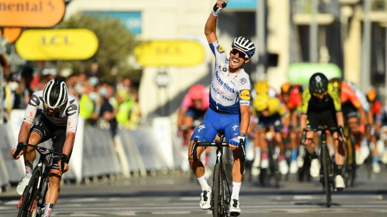 Voici pourquoi Julian Alaphilippe perd le maillot jaune — Tour de France