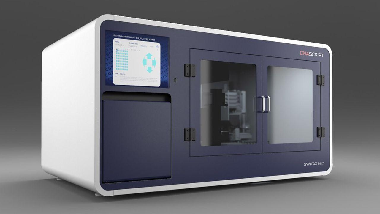Le système Syntax est un synthétiseur d'ADN à la demande qui permet d'accélérer le développement de nouveaux tests de diagnostic.