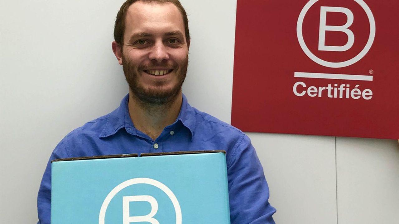 Augustin Boulot est délégué général de B Lab France.