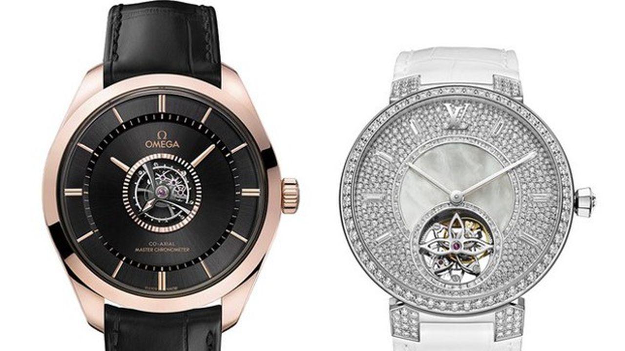 Heures actuelles : montres à tourbillon