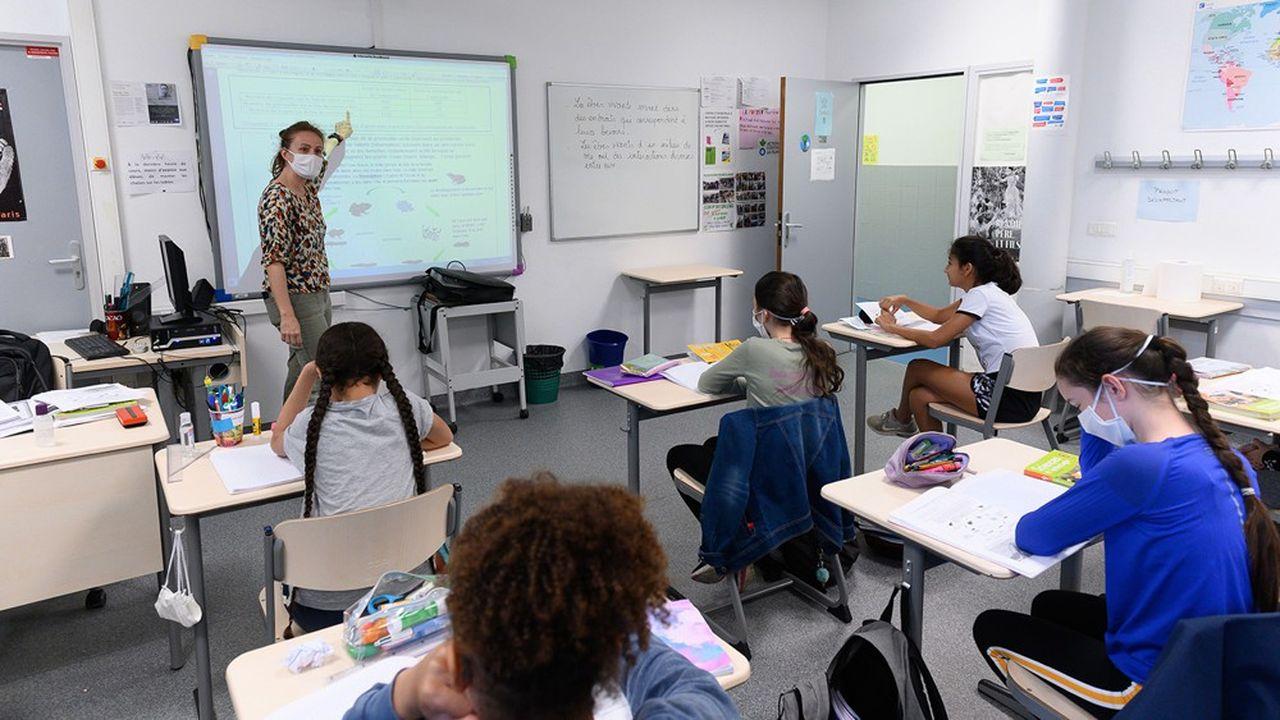 Seuls 7% des enseignants estiment disposer de moyens suffisants pour remplir correctement leur mission, selon une enquête menée auprès de 22.000 enseignants initiée par des députés LREM.