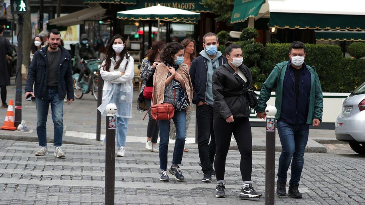 La France a enregistré 3.082 nouveaux cas de contaminations au cours des dernières 24heures, contre 5.413 dimanche.
