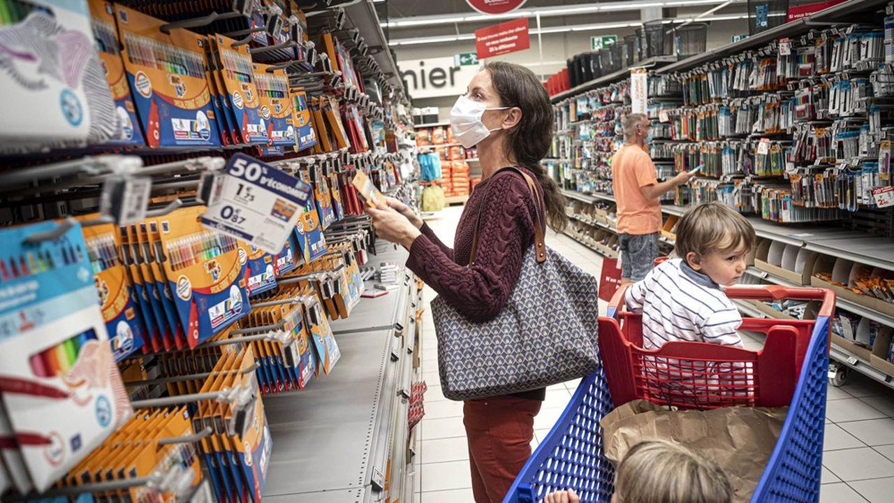 La semaine du versement de l'ARS a enregistré un boum de 6% des ventes en hyper et supermarchés par rapport à la même semaine 2019, selon GfK.