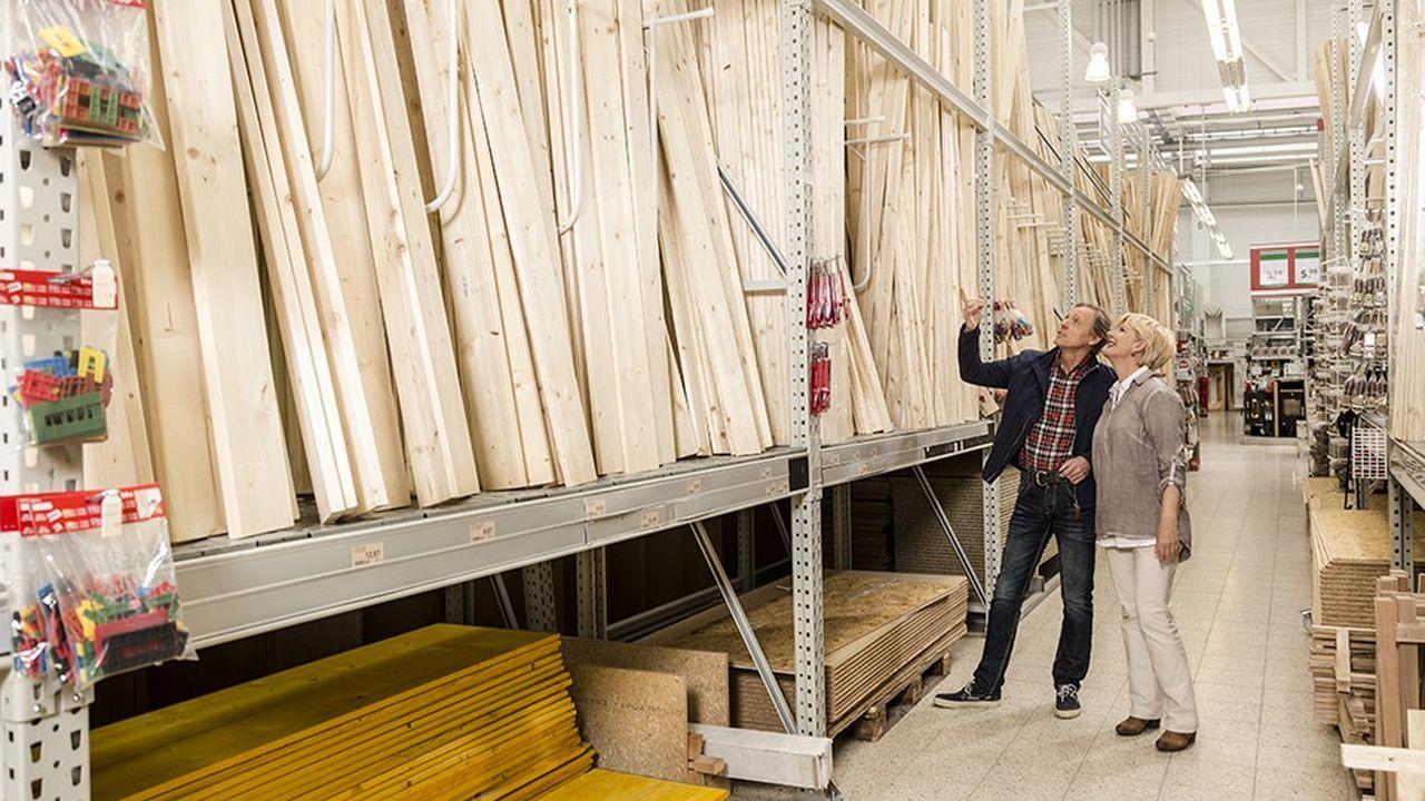 Les magasins de bricolage ont vu leurs ventes exploser après le déconfinement.