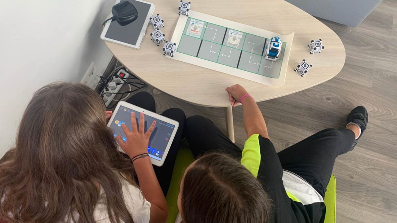 Crocos Go Digital vient d'ouvrir à Marseille un centre qui propose aux parents d'enfants diagnostiqués des ateliers de stimulation.