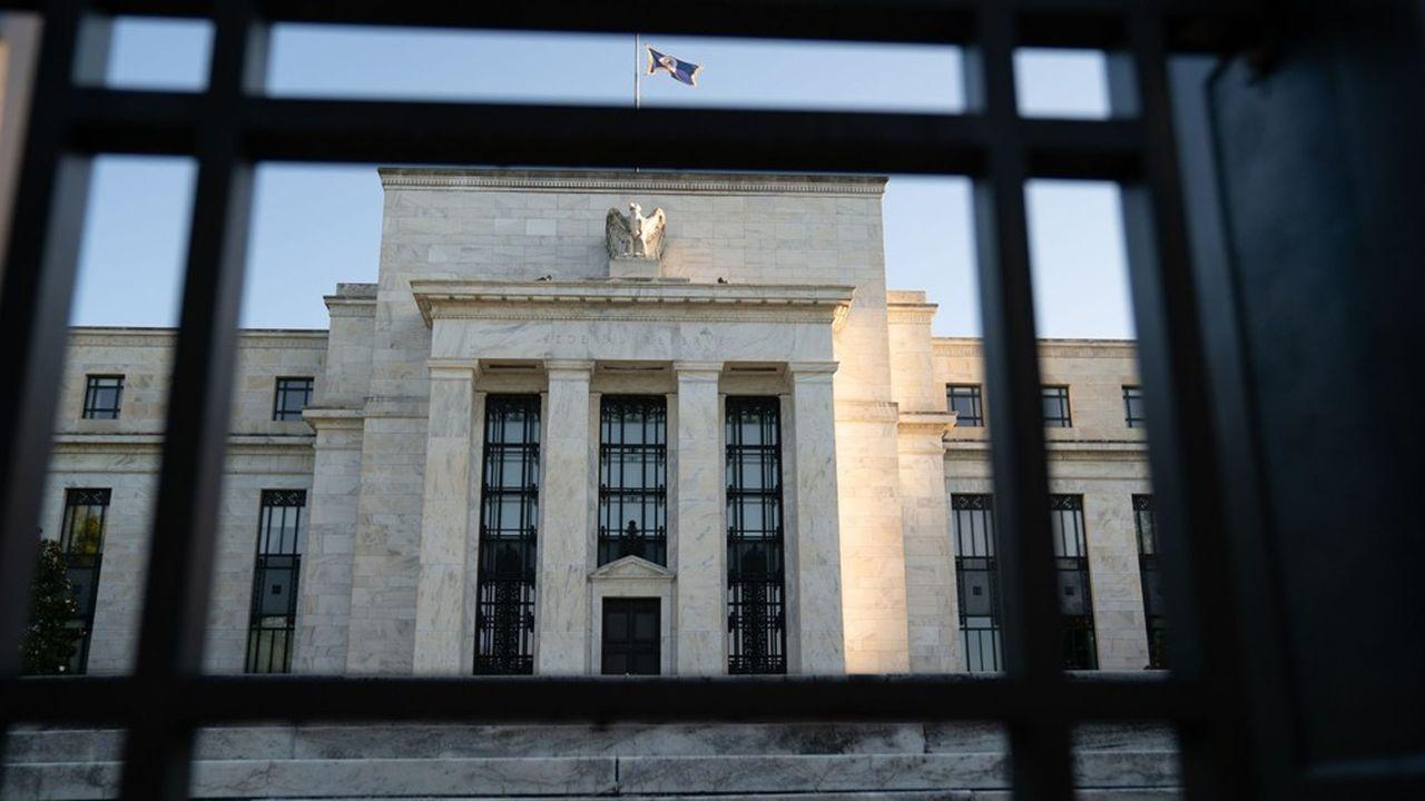 «Jerome Powell a annoncé le virage de la Réserve fédérale des Etats-Unis lors de l'université d'été des banquiers centraux, organisée cette année en mode virtuel et non pas à Jackson Hole». Photographer: Erin Scott/Bloomberg