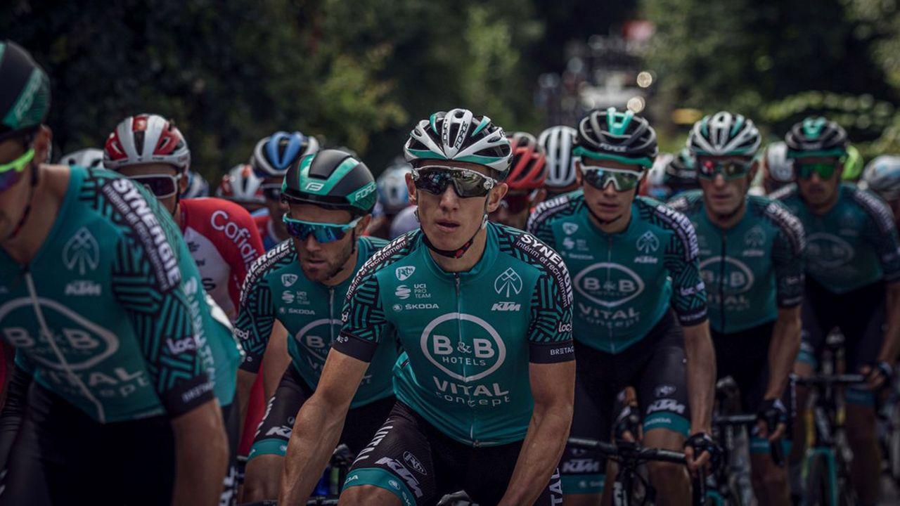 Grâce à une cinquantaine d'entreprises partenaires, B&B Hôtels-Vital Concept dispose d'un budget de 7millions d'euros pour la saison 2020, marquée par sa première présence sur le Tour de France.