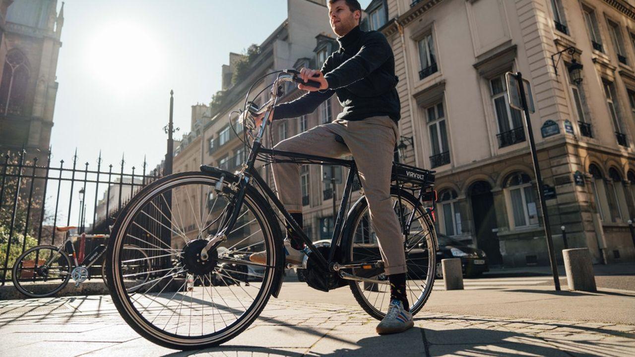 Certaines start-up permettent aux particuliers d'électrifier un vélo qu'ils ont déjà.