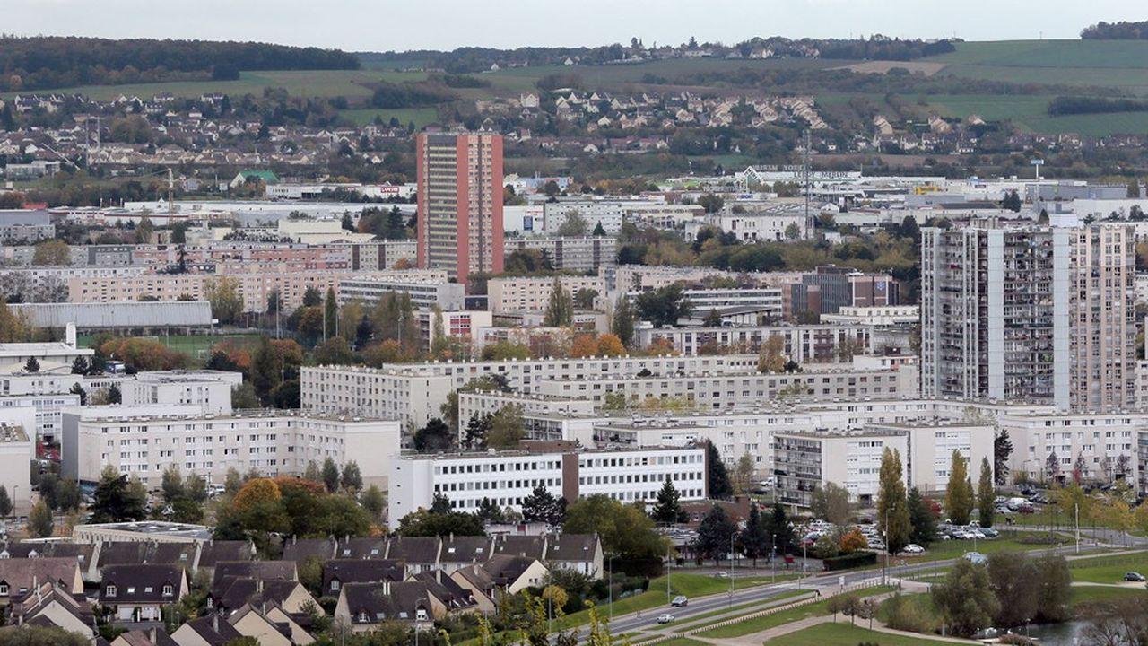 Le Val Fourré à Mantes-la-Jolie.