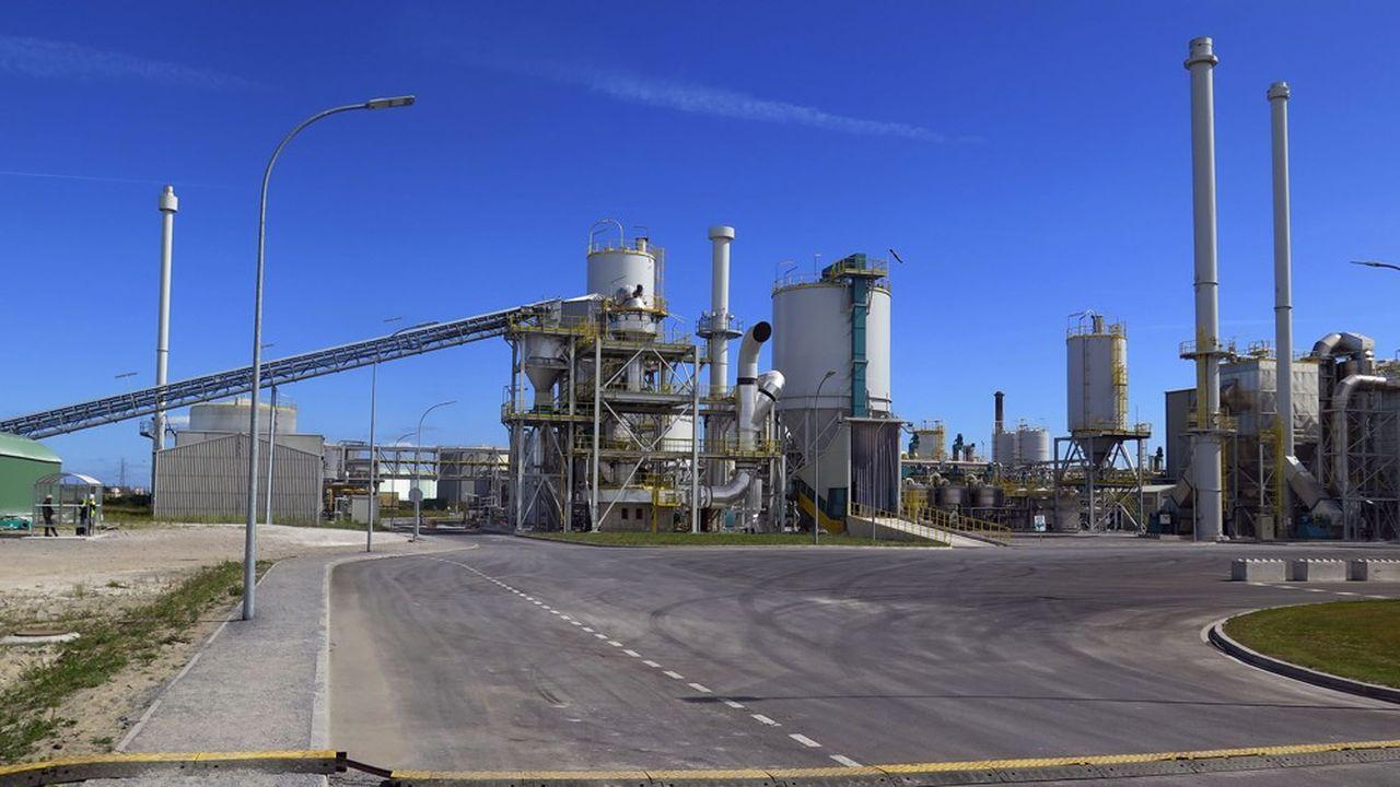 L'usine Aliphosdevait produire 200.000tonnes par an, selon un procédé capable d'extraire des phosphates des roches pauvres.