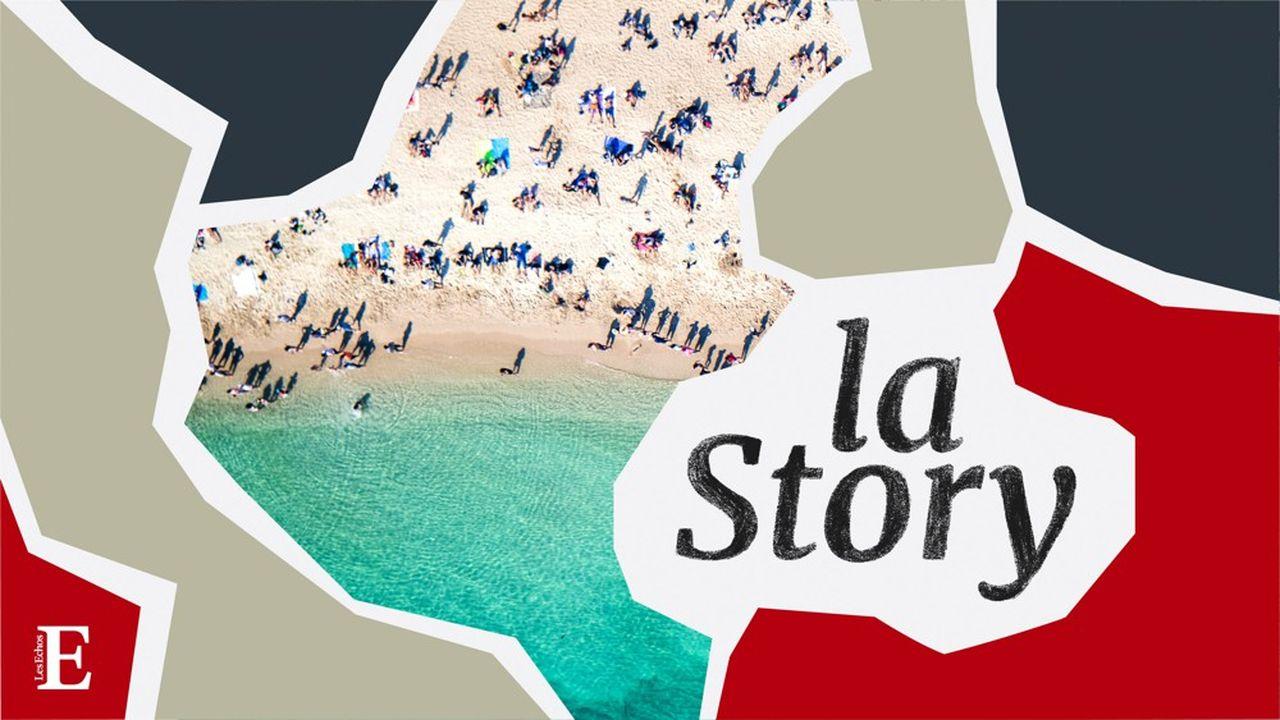 La côte Atlantique a fait le plein de touristes à l'été 2020.