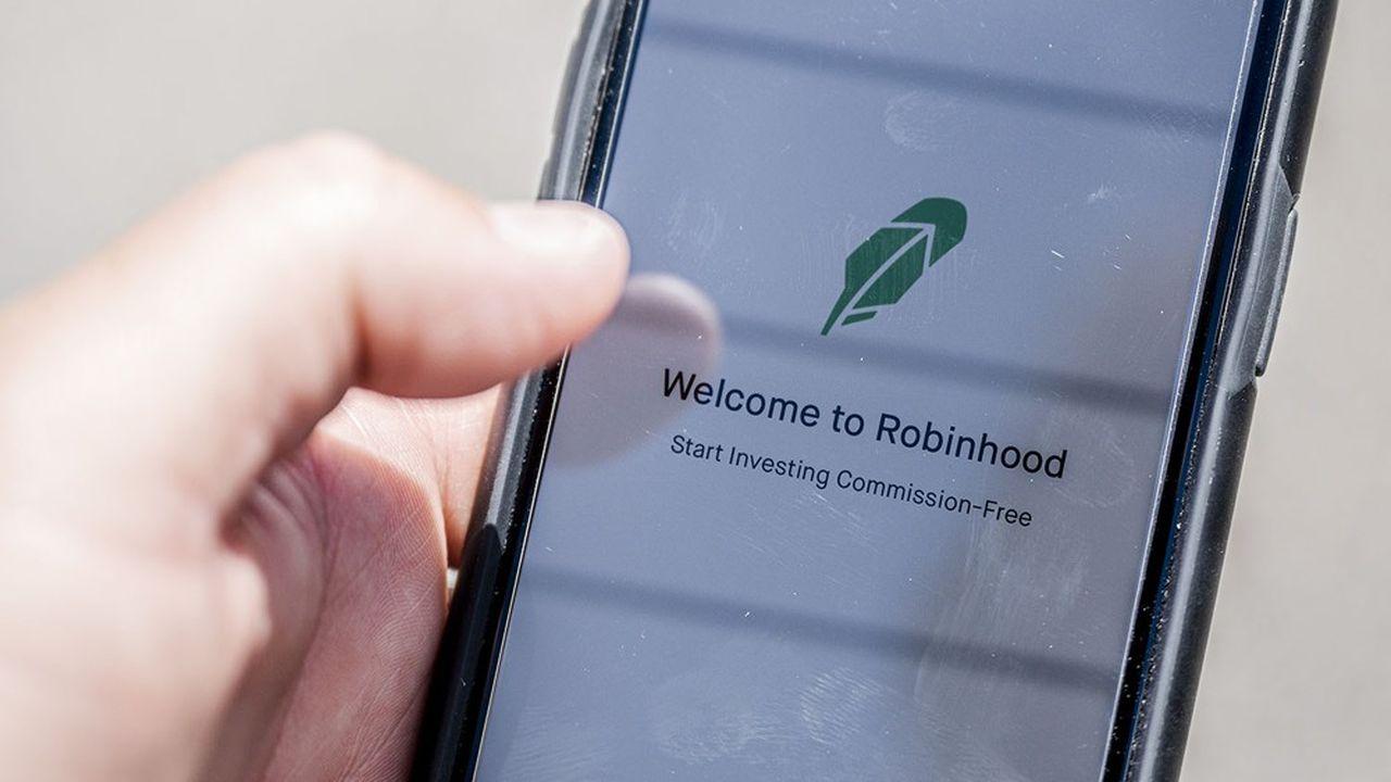 Le smartphone (l'application Robinhood) devient le moyen privilégié pour envoyer ses ordres de Bourse
