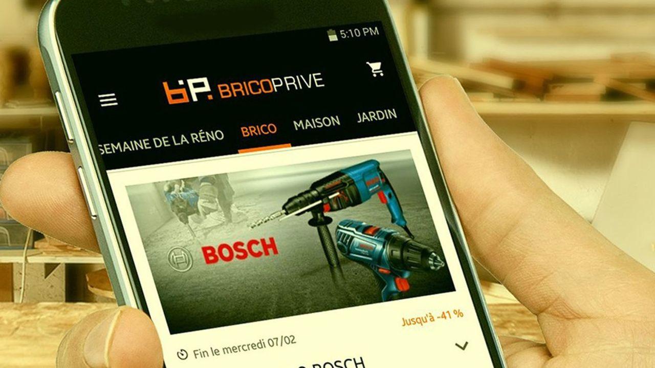 Créé en 2012 pour faire de la vente événementielle, Bricoprivé.com s'est élargi en 2019aux produits permanents.