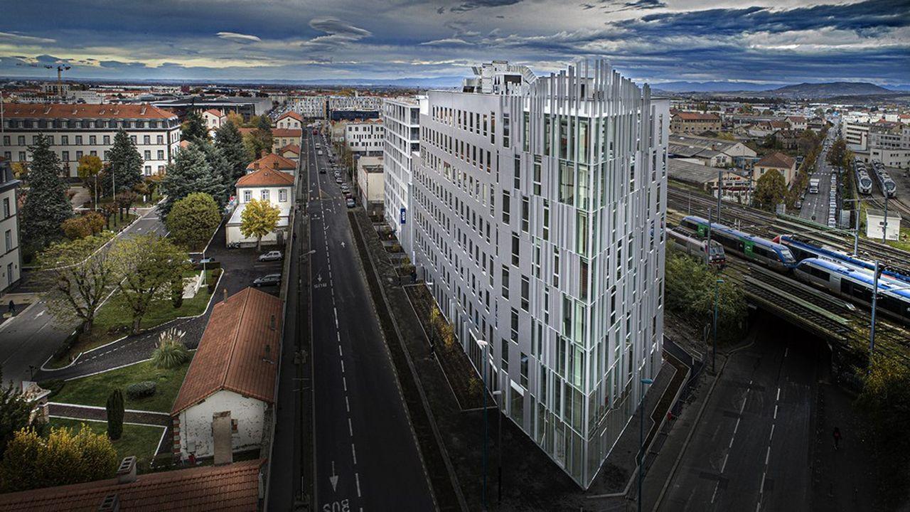 A l'image de l'hôtel Eklo à Clermont-Ferrand (photo), Bouygues Bâtiment France Europe entend faire valoir ses savoir-faire dans la programmation, le design, le développement immobilier, la réalisation et le mobilier en assurant homogénéité et continuité avec ses filiales.
