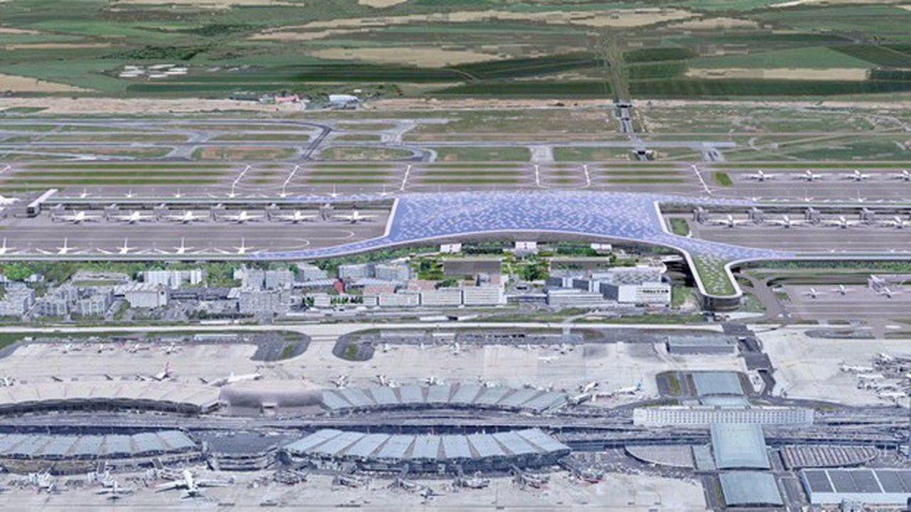 Le futur terminal 4 de Roissy-CDG présenté en mai dernier va probablement changer d'aspect.