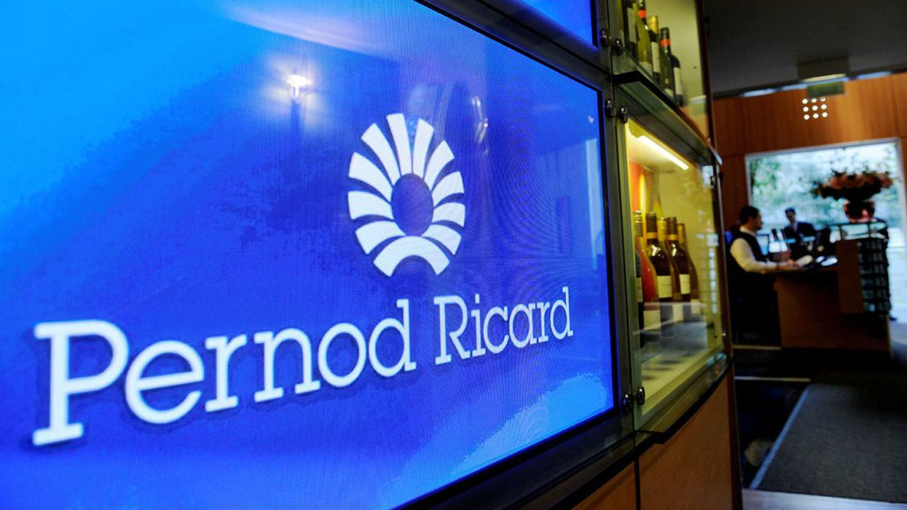 Pernod Ricard a enregistré une baisse de 77% de son bénéfice net.