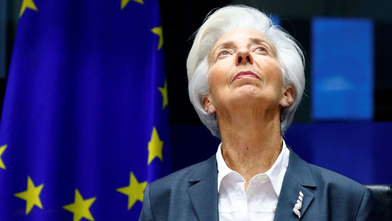 La présidente de la Banque centrale européenne (BCE) Christine Lagarde va tenter de faire remonter l'inflation tout en ménageant les «faucons» de la BCE
