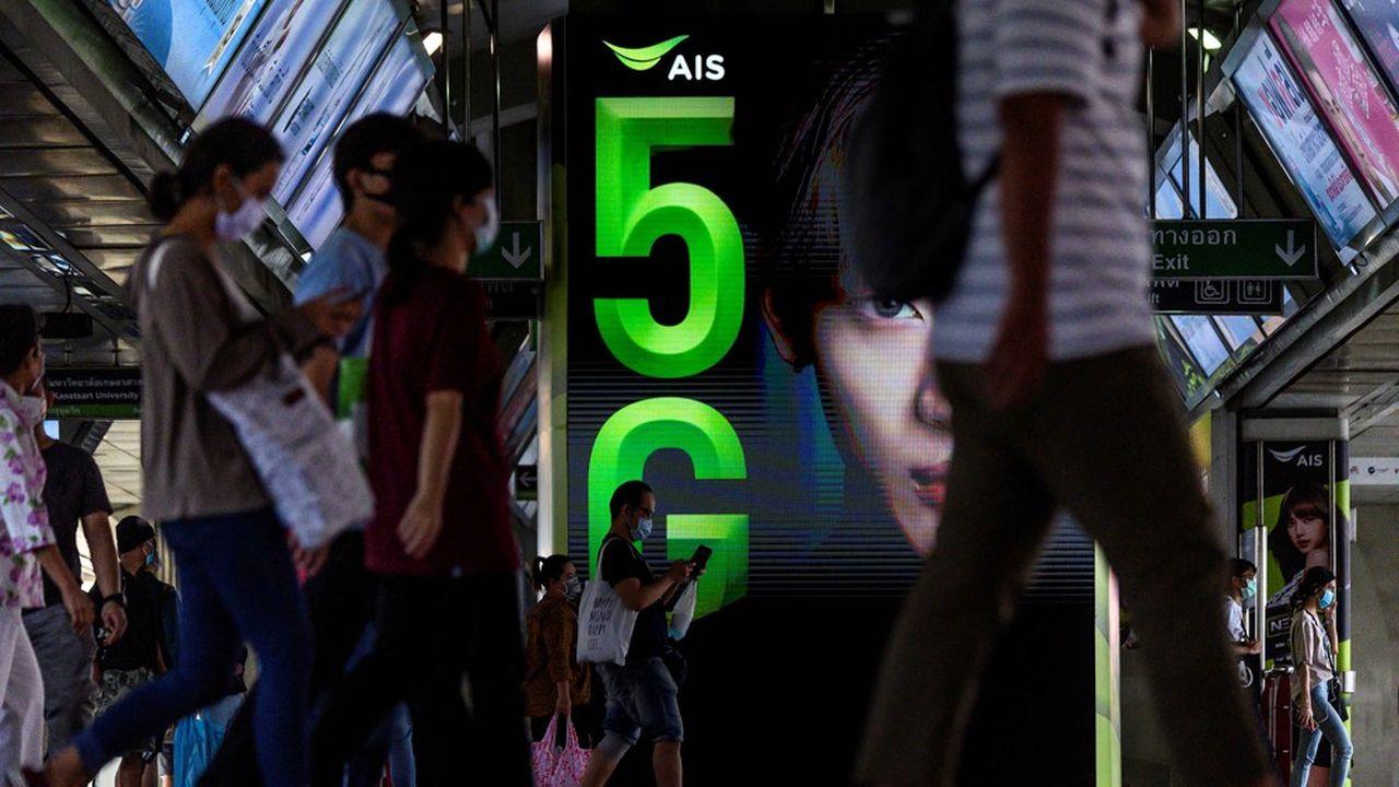 La 5G commencera à arriver fin2020 en France, mais d'abord en milieu urbain.