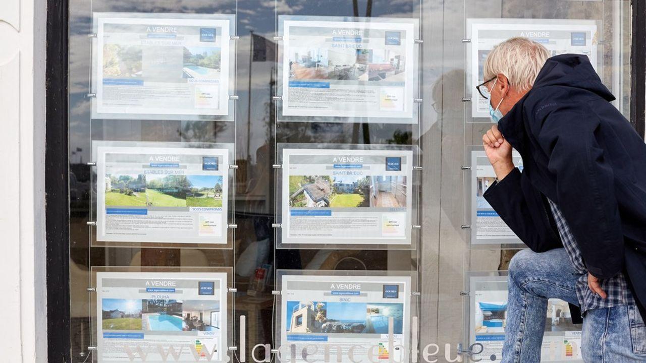 La production de crédit immobilier des réseaux bancaires a chuté de 20% depuis le début de l'année.