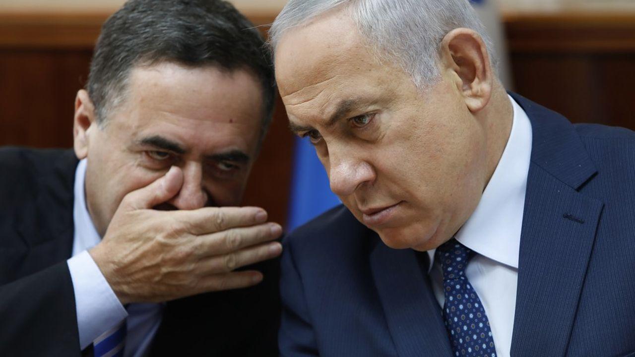Israël Katz, ministre des Finances et fidèle du Premier ministre Benyamin Netanyahu.