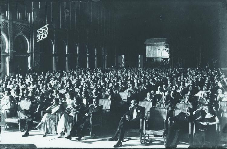En 1932, l'hôtel Excelsior accueille la première Mostra