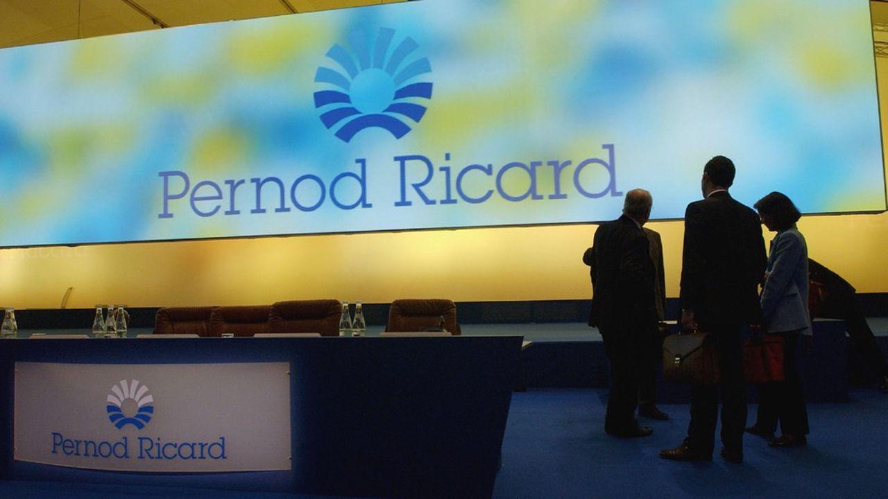Alexandre Ricard estime que le groupe qu'il dirige «a fait tout ce qu'il avait à faire» malgré la crise sanitaire.
