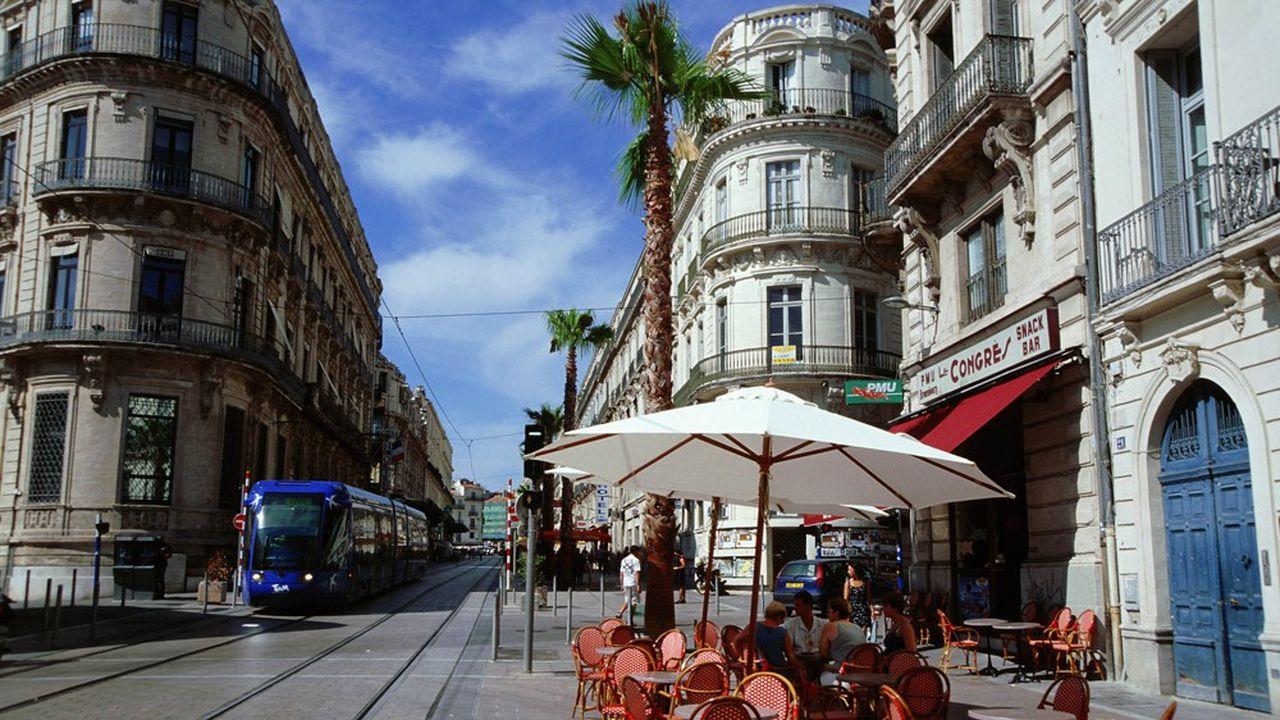 A Montpellier (photo) la rentabilité brute d'un logement T1 s'élève en moyenne à 8% par an, au 1eraoût, selon MeilleursAgents.