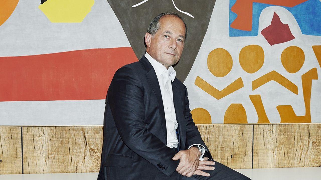 Frédéric Oudéa, patron de la Société Générale, le 29 juillet 2020.