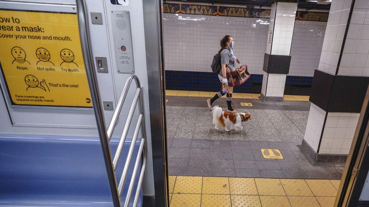 Le travail à distance reste encore largement utilisé à New York, privant la MTA des passagers qui acquittaient leur forfait mensuel de 127dollars.
