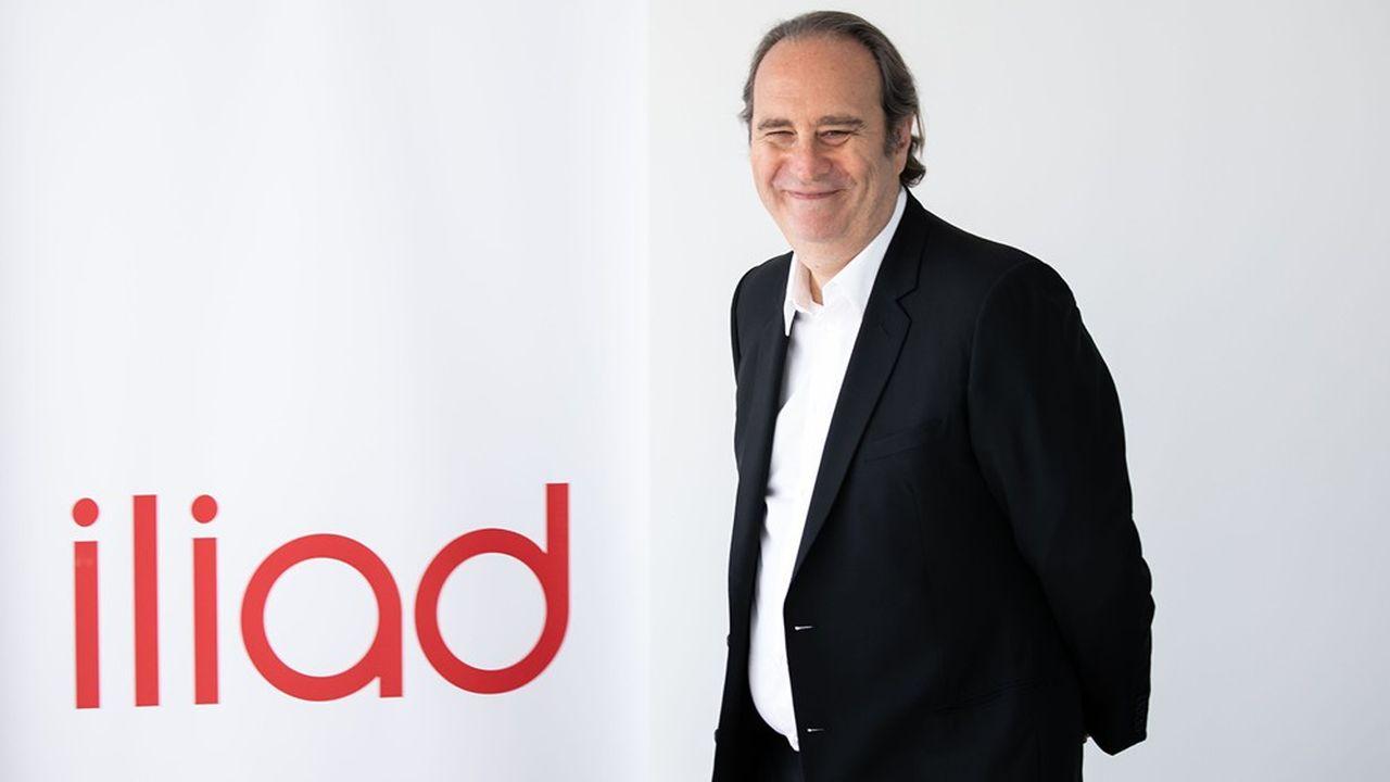 L'opérateur de Xavier Niel a convaincu 458.000Français de souscrire à ses offres fibre au premier semestre 2020.