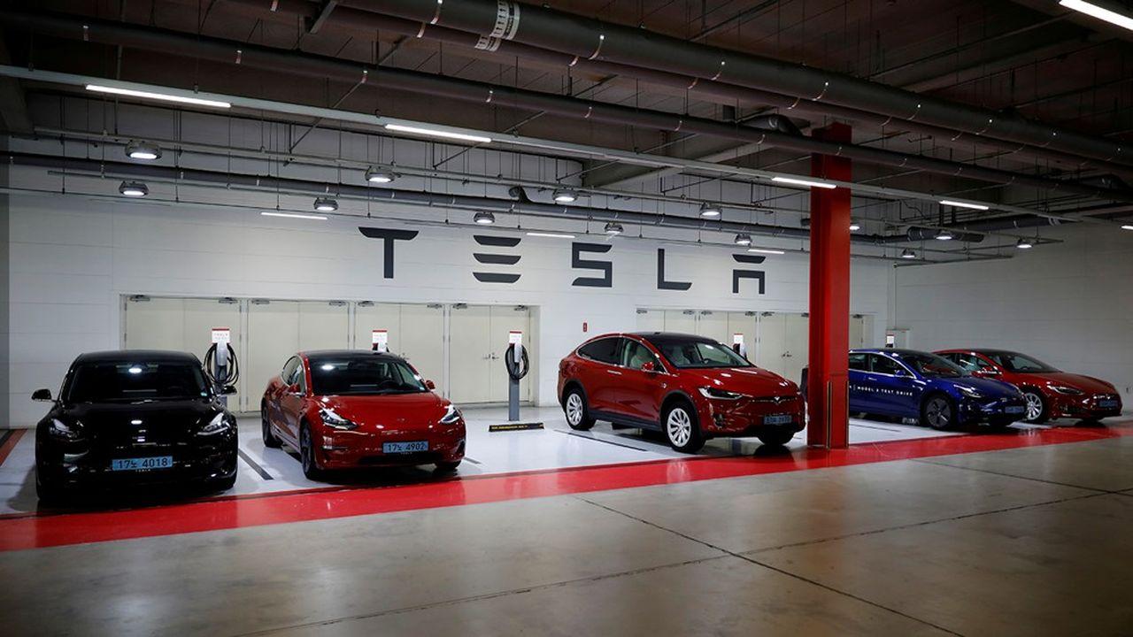 L'entreprise d'Elon Musk veut notamment investir dans son pick-up 100% électrique, baptisé le «Cybertruck», et dans une ligne de camions remorques.