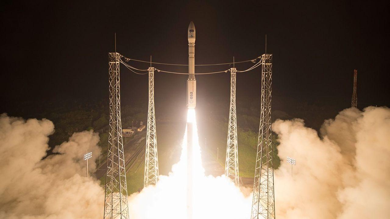 Le lanceur Vega avait connu son premier échec en vol au cours de son quinzième lancement, en juillet2019.