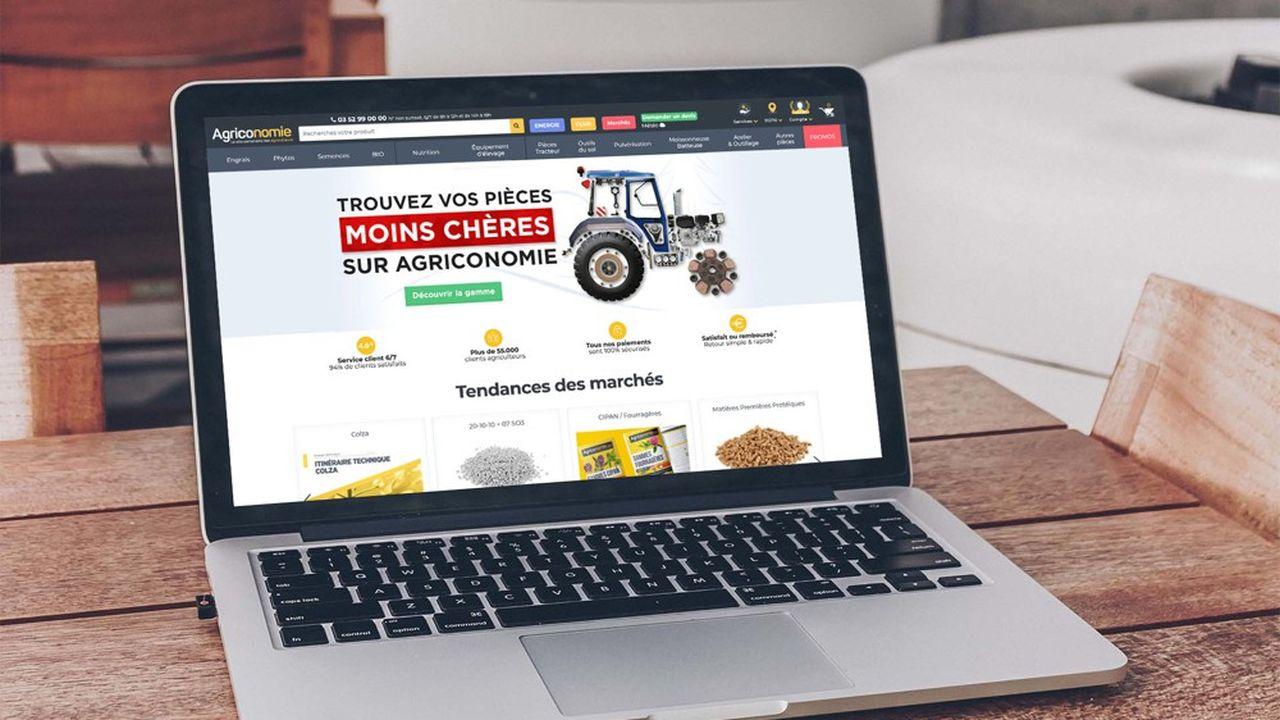 Le site marchand Agriconomie emploie 70 personnes pour un chiffre d'affaires de 40 millions d'euros.