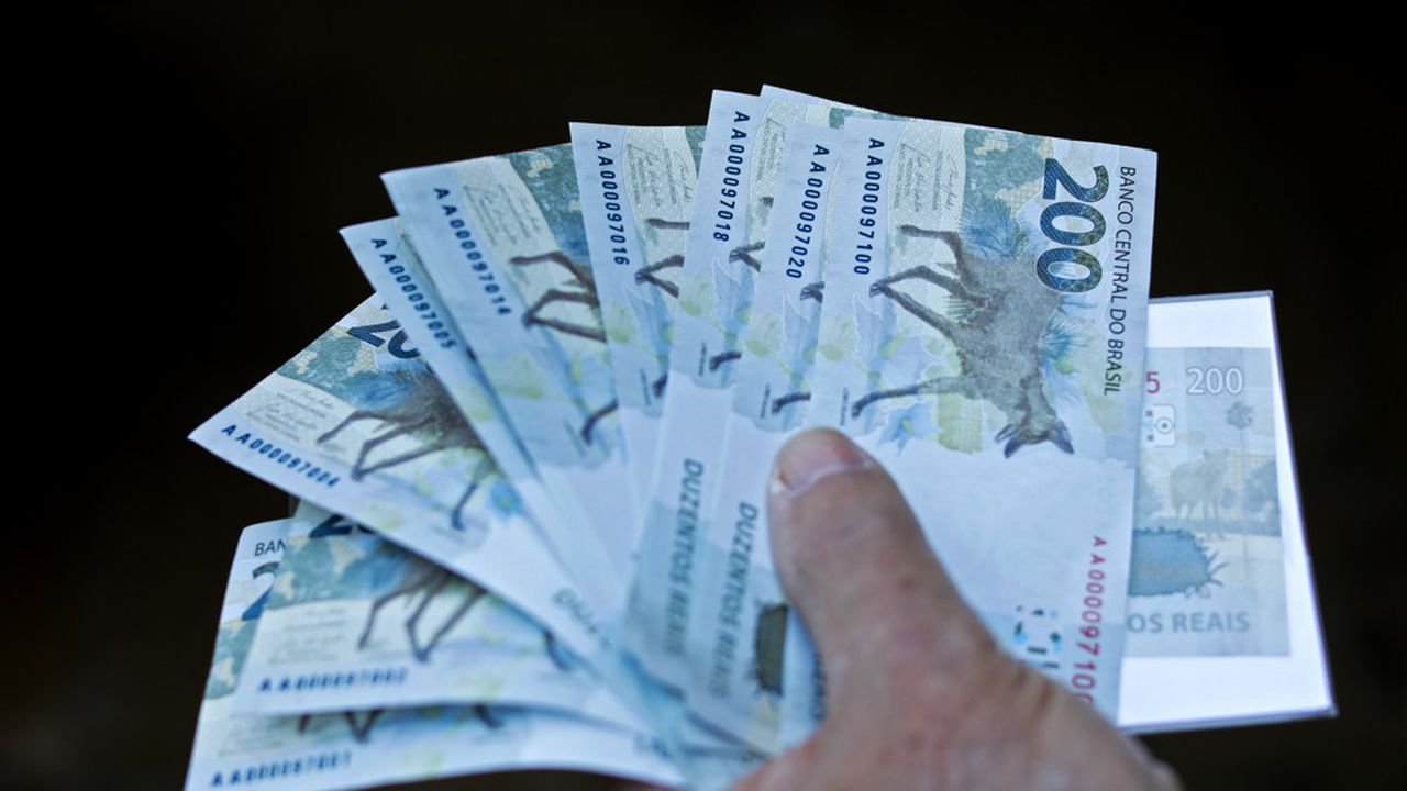 Au Brésil, le nouveau billet de 200 reals (30 euros environ), à l'effigie de l'emblématique loup à crinière du Cerrado, a été officiellement mis en circulation le 2 septembre.
