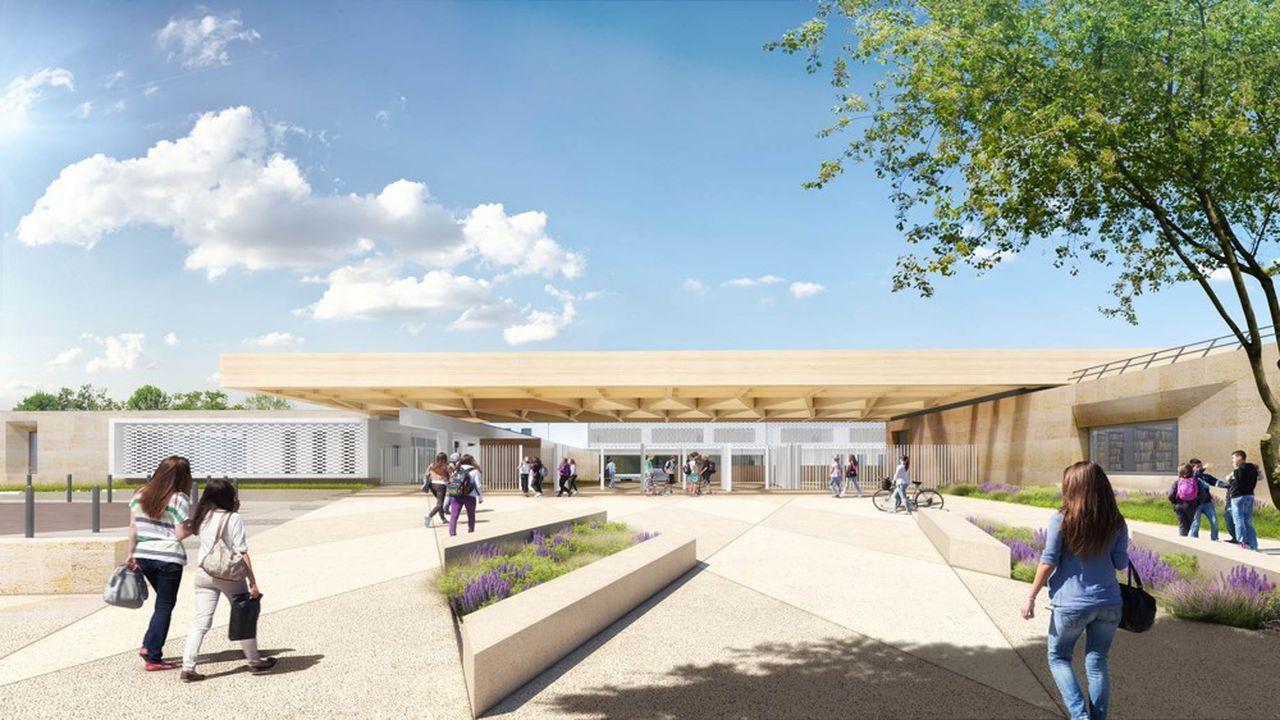 Le nouveau collège de Remoulins fait partie des projets retenus.