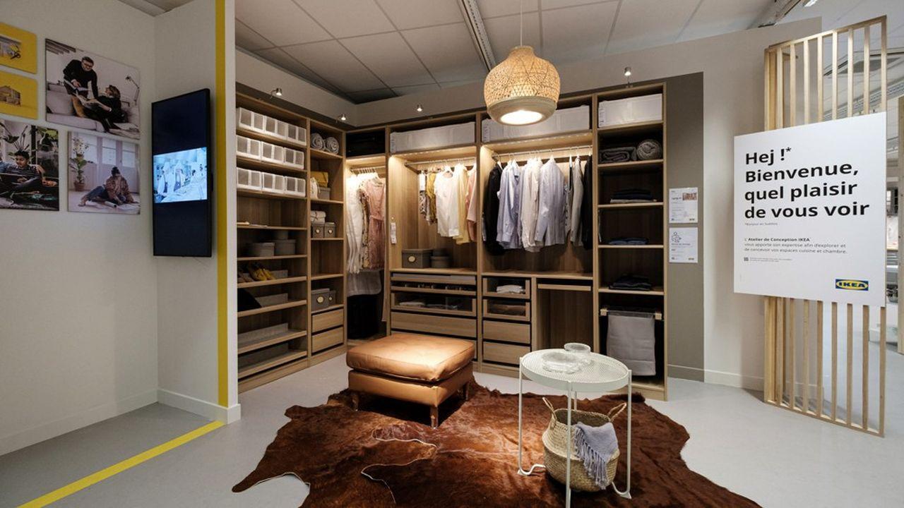 L'Atelier Ikea, ouvert en centre-ville de Nice, survivra-t-il à l'ouverture du grand magasin annoncé au premier semestre 2022 à l'ouest de la ville? «Ce sont les clients qui décideront», répond le PDG d'Ikea France, Walter Kadnar.
