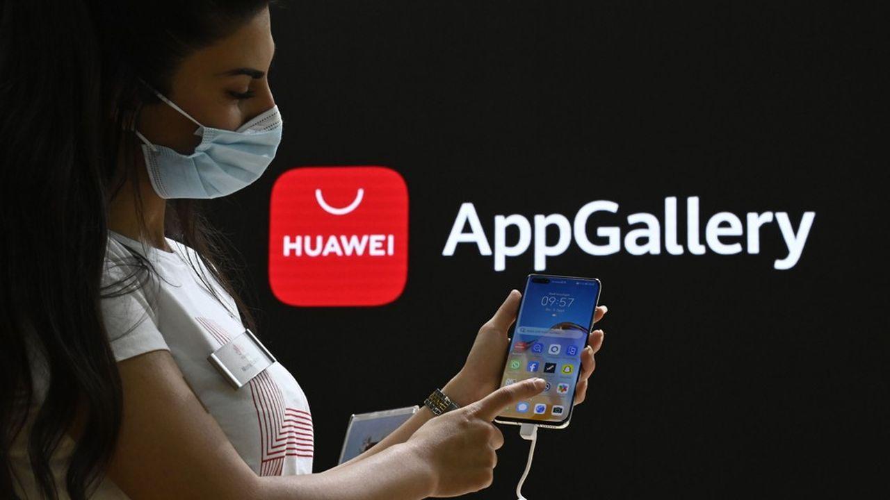 Lors de l'IFA de Berlin, Huawei a choisi de faire la promotion d'AppGalery, son service concurrent au Play Store de Google et à l'AppStore d'Apple.